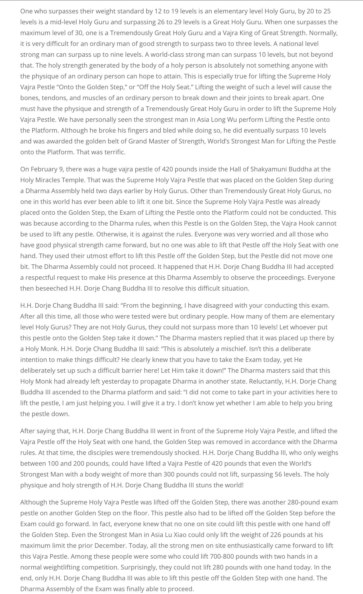 USA Today_True Buddha Dharma Factually Manifests Realization Power 2X