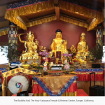 The Buddha Hall, The Holy Vajrasana Temple & Retreat Center, Xuanfa Utah Dharma Center, Zhaxi Zhuoma Rinpoche,